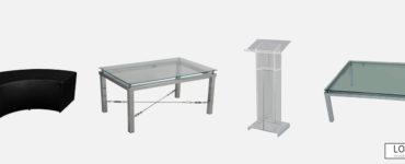 Locação de móveis para eventos: vantagens de alugar mobiliário
