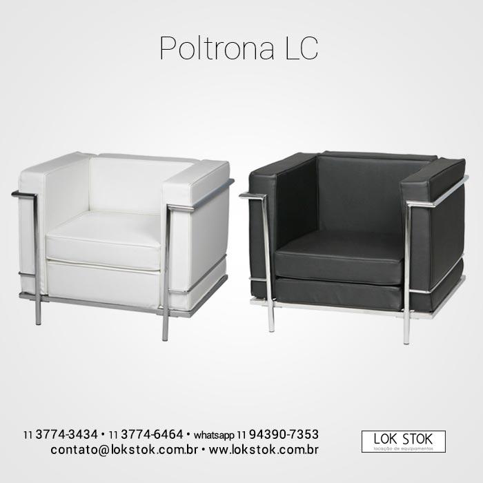 Loca o e aluguel de poltrona le corbusier branco para for Le corbusier poltrona